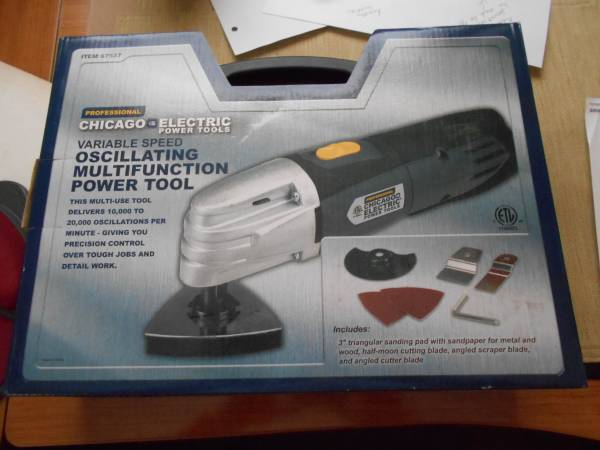 Photo Professional Chicago Electric Oscillating Multifunction Power Tool - $60 (Prospect)