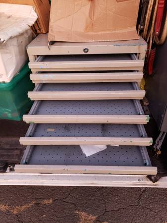 Photo Real thick steel aircraft tool box from big jet engine maker very heav - $235 (West Hartford)