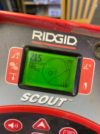 Photo Ridgid Seesnake Sewer Drain Line Inspection Locater - $1100 (East Hartford)