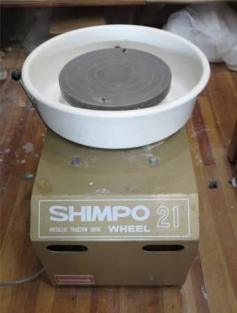Photo SHIMPO 21 POTTERS WHEEL - $550 (Essex)