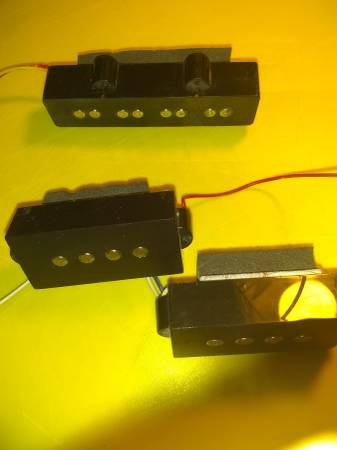 Photo Set of Powersound P and J Active Bass Pickups - $35 (Stratford)