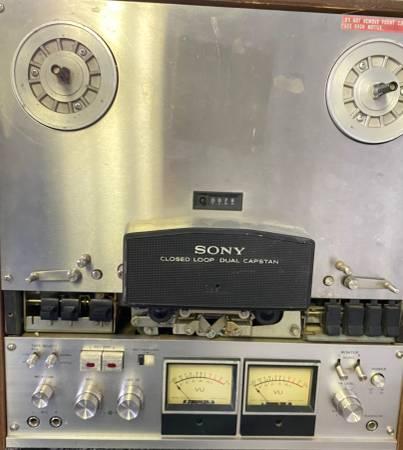 Photo Sony TC-755 Open Reel Recorder 10.5 reels - $100 (West Hartford)