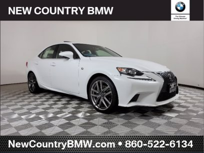 Photo Used 2015 Lexus IS 250 AWD w F-Sport Package for sale
