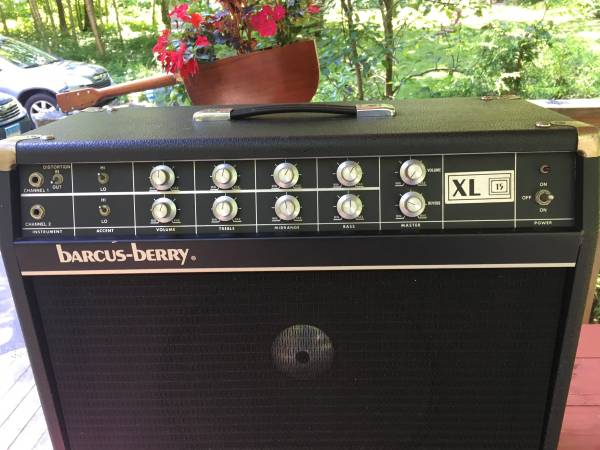 Photo Vintage Pedal Steel  Jazz Guitar Amp - $265 (Lebanon)