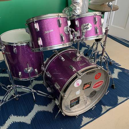 Photo Vintage Rogers Drums - $950 (Chester)