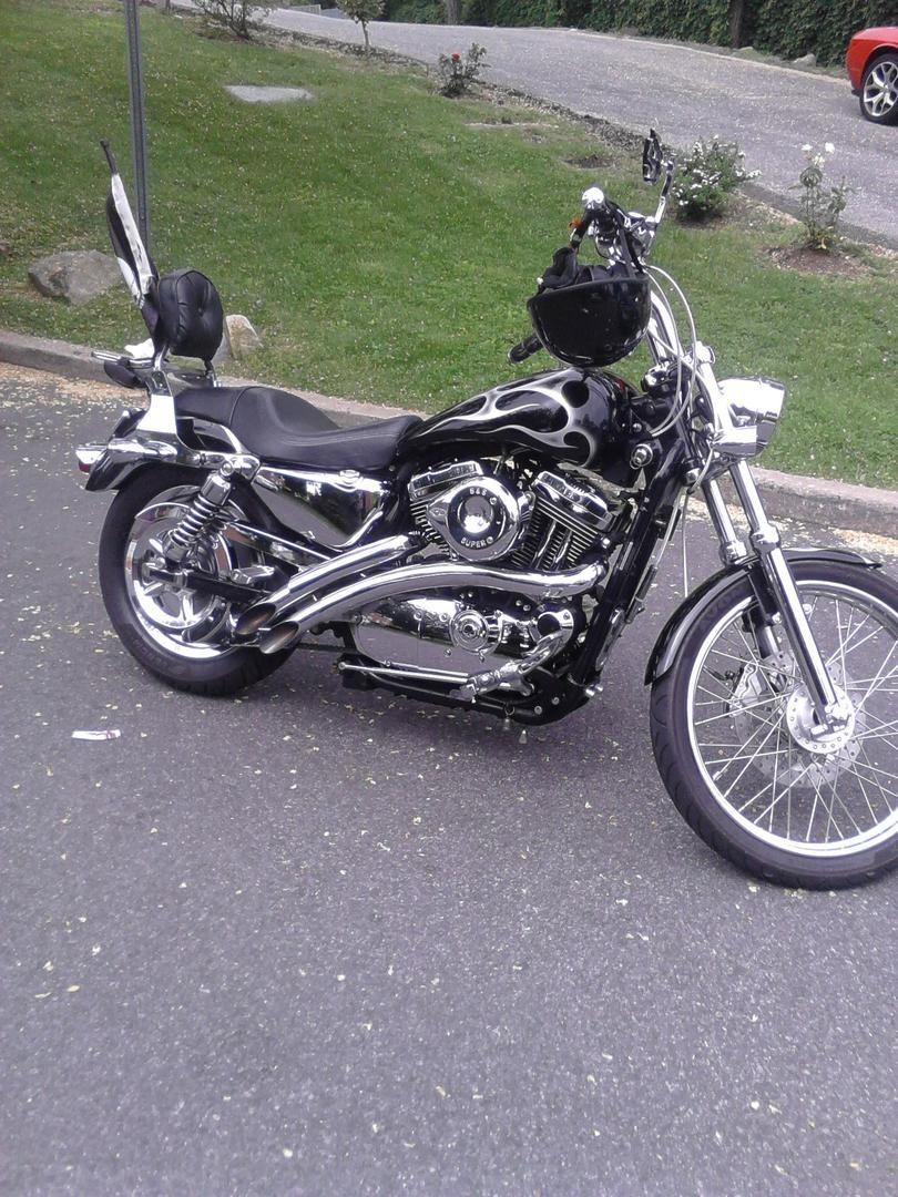 Photo 2004 Harley-Davidson SPORTSTER 1200 CUSTOM $8000169.60169.60