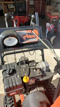 Photo ariens simplicty snow blower - $450 (southington)