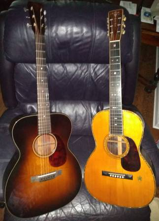 Photo 1934 vintage prewar Martin 000-18 acoustic guitar (Laplace, LA)