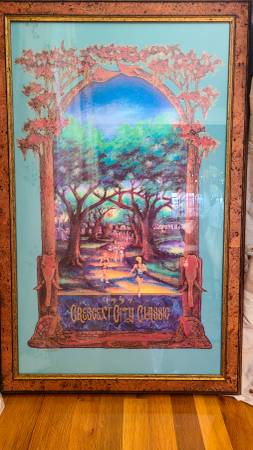 Photo 1997 Framed Crescent City Classic Poster - $125 (Uptown)