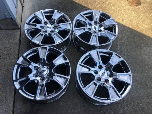 Photo 2017 Ford F150 18quot chrome wheels - $500 (Laurel, MS)