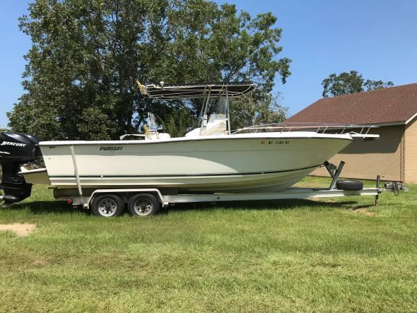 Photo 2655 Pursuit center console boat - $22,500 (Laurel)