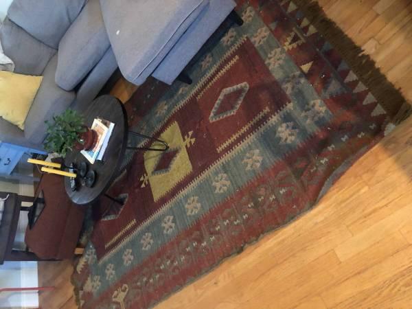 Photo 5 x7 world market rug curbside (mid city)