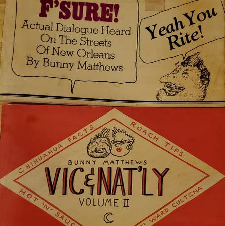 Photo F39Sure and Vic n Natly vol 2. By Bunny Matthews. New orleans collectib - $40 (St Roch Marigny Bywater)