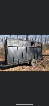 Photo Homemade bumper pull single axel Trailer - $800 (Tylertown)