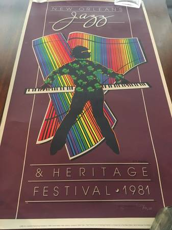 Photo One New Orleans Jazz and Heritage Festival Posters - $130 (New Orleans)