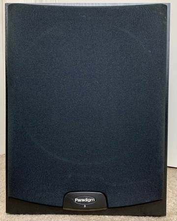 Photo PARADIGM PDR-100 SUBWOOFER POWERED SPEAKER 10 INCH STEREO HIFI BASS - $150 (LAKESIDE METAIRIE KENNER NOLA WEST END BUCKTOWN LAKEVIEW WOW)