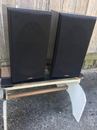 Photo Polk Audio RTi-38 speakers - $80 (Kenner)