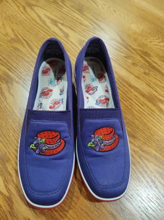 Photo Red Hat Wedge Shoes - 7M - $20 (Bush LA)