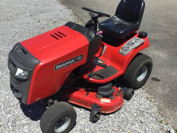 Photo Snapper Riding Mower - $800