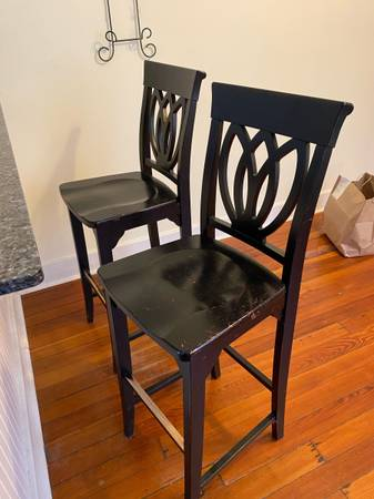 Photo Two bar chairs - $60 (New Orleans)