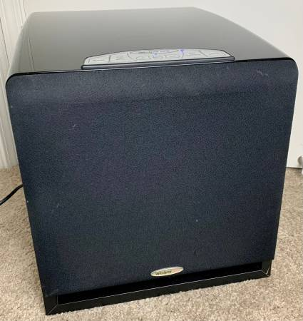 Photo VELODYNE DPS-10 POWERED SUBWOOFER SPEAKER 10 INCH STEREO BASS CLEAN - $160 (LAKESIDE METAIRIE KENNER NOLA WEST END BUCKTOWN LAKEVIEW WOW)