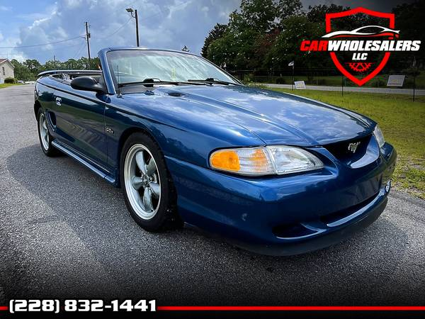 Photo 1998 FORD MUSTANG GT CONVERTIBLE - $7,895 (Saucier, MS)