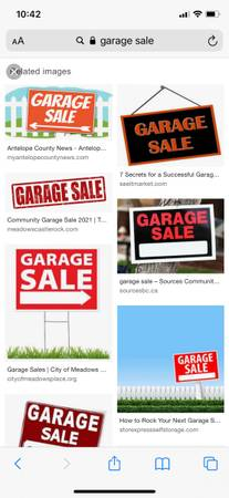 Photo garage sale May 14,15,16 (7am-till) 6158 Orleans ave, 70124 (New Orleans)