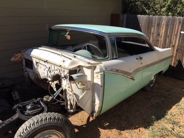 Photo 1956 Ford Victoria project car. - $4,800 (Helena West side)
