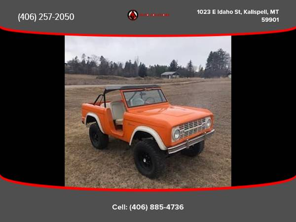 Photo 1966 Ford Bronco - Financing Available - $32988