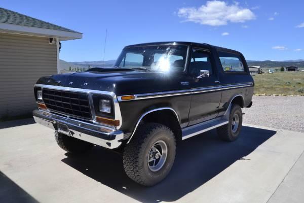 Photo 1979 Ford Bronco - $29,950 (MT - Helena)