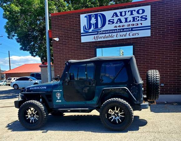 Photo 1997 Jeep Wrangler SE 2 door soft top- lifted, with tons of aftermark - $9995