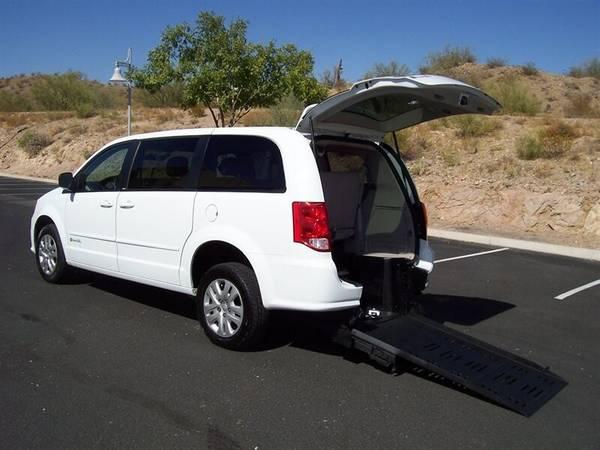 Photo 2014 Dodge Grand Caravan SE Wheelchair Handicap Mobility Van - $21,900 (BEST BUY - AZ Mobility Center)