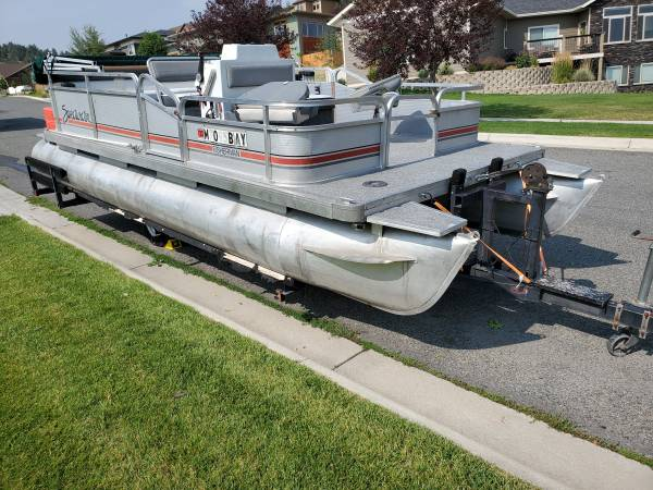 Photo 2039 Pontoon boat for sale - $6,500 (Helena)