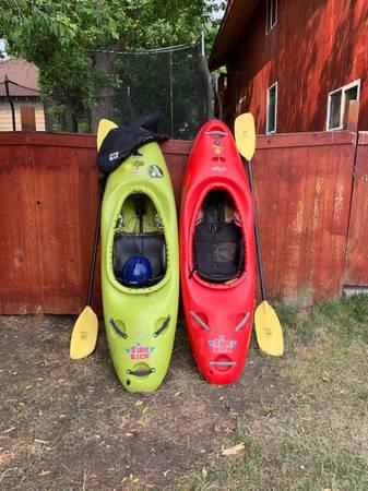 Photo 2 Jackson white water kids kayaks - $1,000 (Helena)