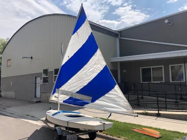 Photo Alcort Sunfish Sailboat for sale (trailer included) - $775 (Bozeman)