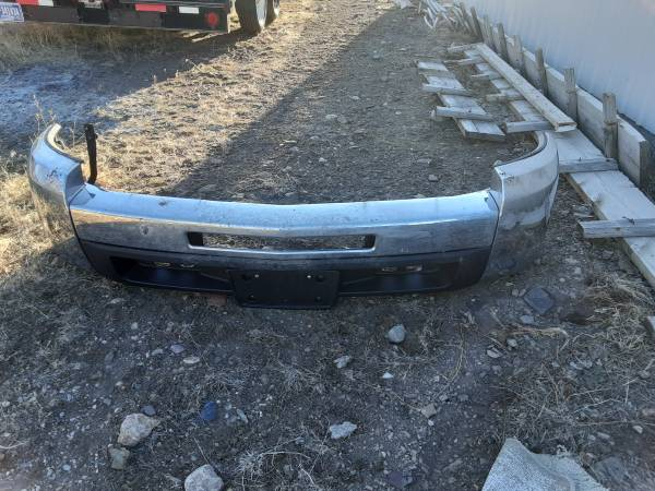 Photo Chevy Silverado truck bed and bumpers - $400 (Wolf Creek)