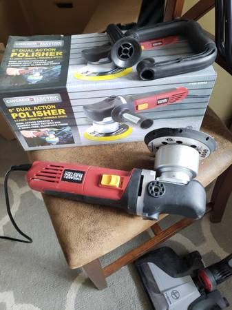 Photo Chicago electric dual action polisher - $40 (Helena)
