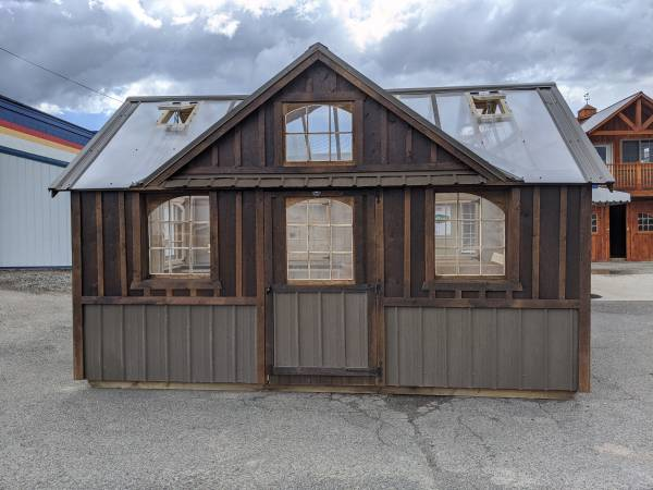 Photo Custom Built Amish Sheds ready in 3 weeks - $1,995 (Helena)