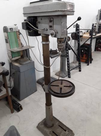 Photo Drill Press - 34HP - 14inch - Floor model - $275 (Helena)