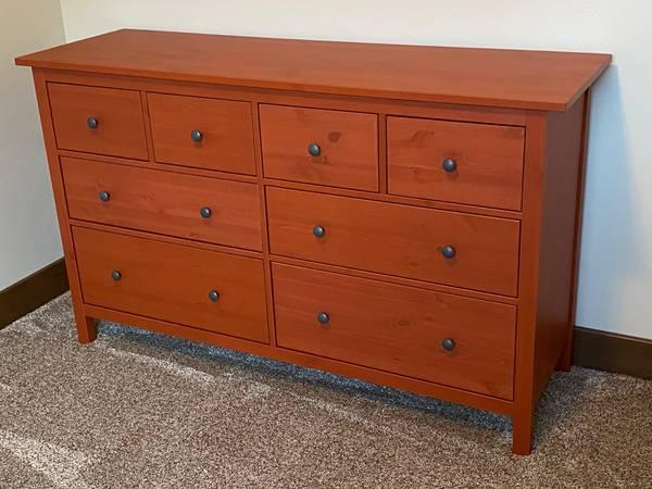 Photo Ikea Hemnes 8 drawer Dresser - $250 (Clancy)