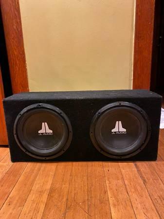 Photo JL Audio Subs 12 - $180 (Helena MT)
