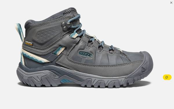 Photo Keen Womens Hiking Boots--Worn Once - $100 (Downtown Helena)