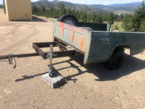 Photo Pickup Box Trailer - $350
