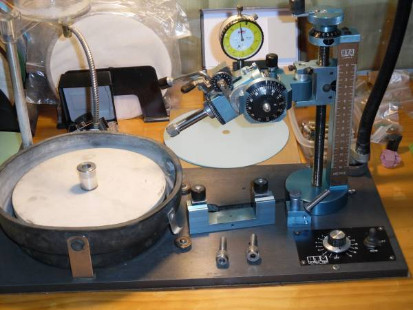 Photo Ultra Tec V2 faceting machine - $2,200 (Helena)