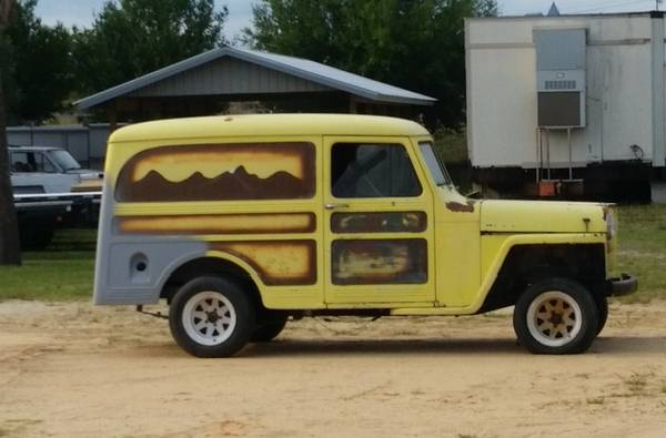 Photo 1954 Willys Delivery Wagon - $6,500 (Florida)