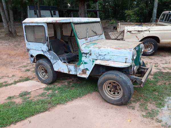 Photo 1962 willys Jeep cj3b - $3,000 (Taylorsville)