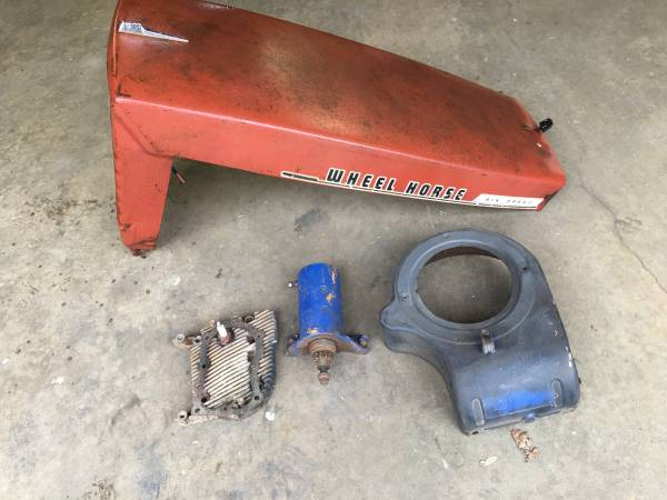 Photo 1970 Wheel horse hood - $150 (Newton)