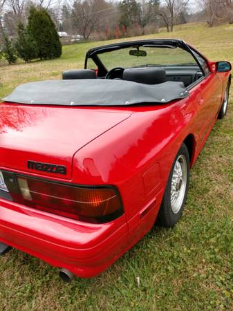 Photo 1989 Mazda rx7 - $8,500 (Lenoir,nc)