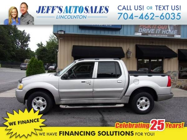Photo 2003 Ford Explorer Sport Trac XLT 2WD - Down Payments As Low As $1000 (Down Payment)