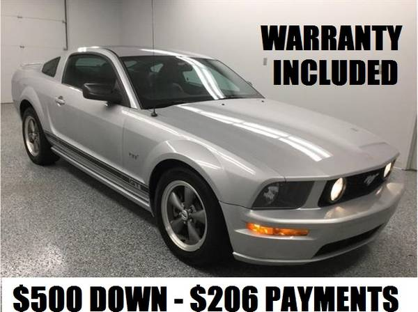 Photo 2005 FORD MUSTANG GT PREMIUM w WARRANTY - $206 (BUY HERE PAY HERE w CREDIT REPORTING)